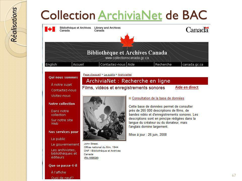 Collection ArchiviaNet de BAC