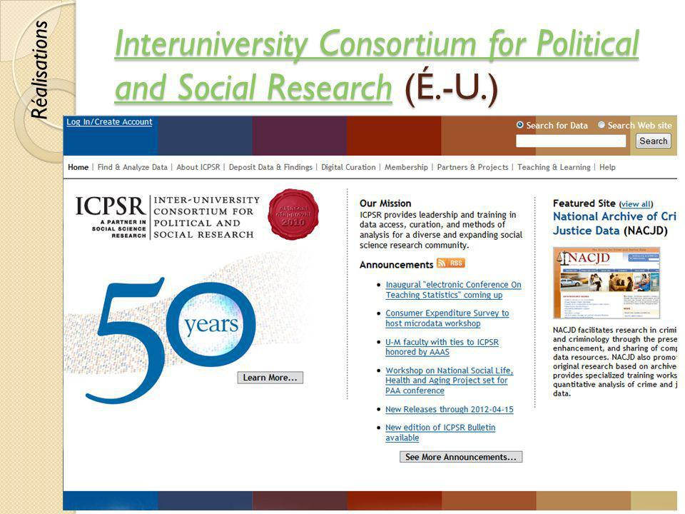 Interuniversity Consortium for Political and Social Research (É.-U.)