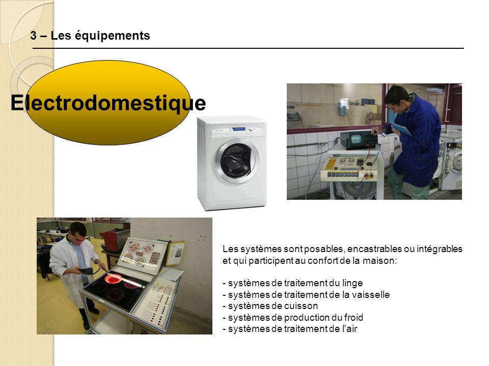 Electrodomestique 3 – Les équipements