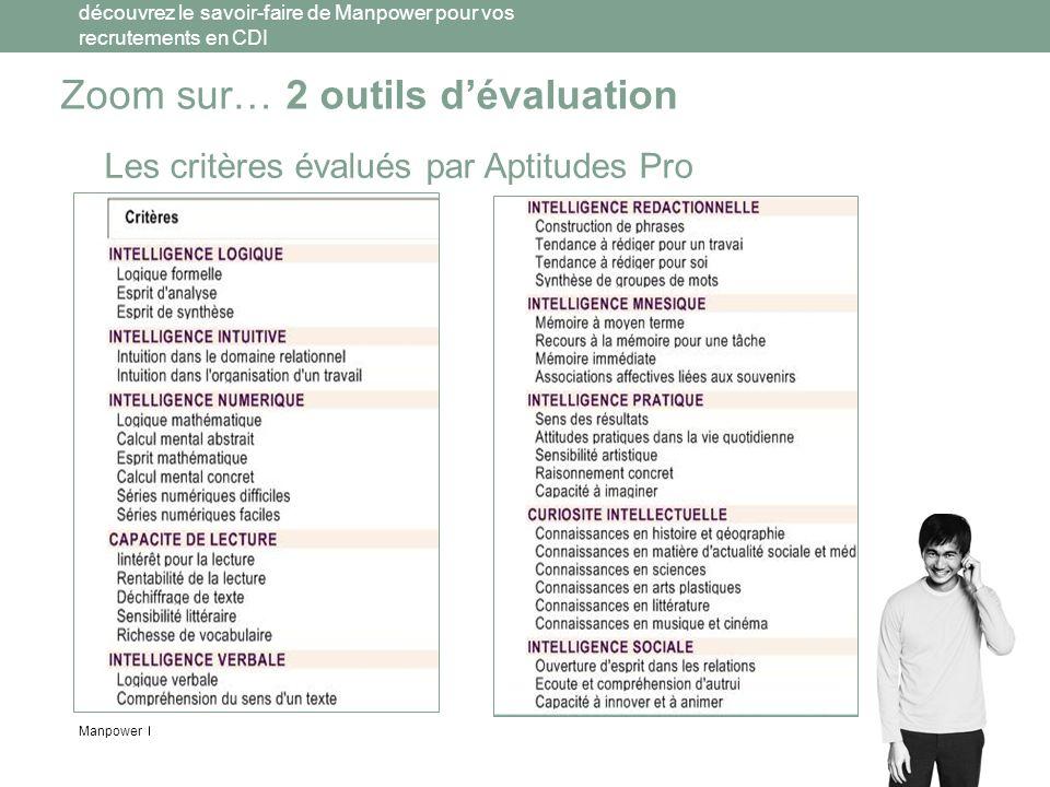 Zoom sur… 2 outils d'évaluation