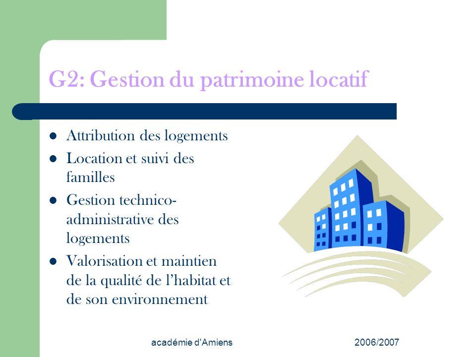 G2: Gestion du patrimoine locatif