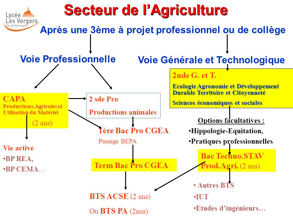 Secteur de l'Agriculture