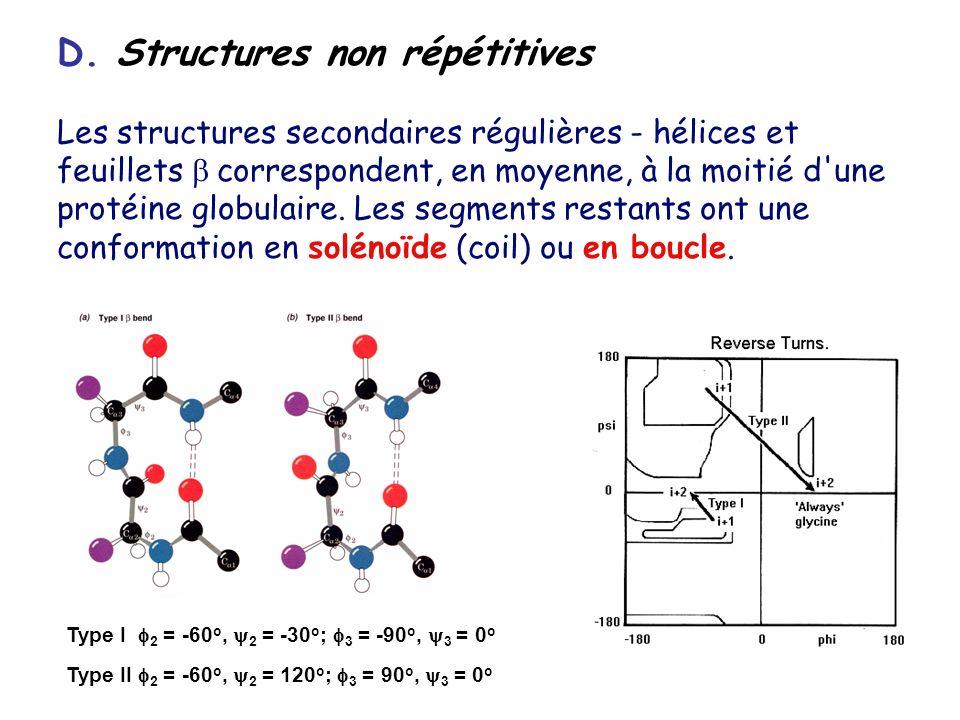 D. Structures non répétitives