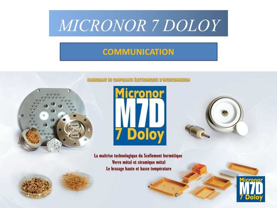 MICRONOR 7 DOLOY COMMUNICATION