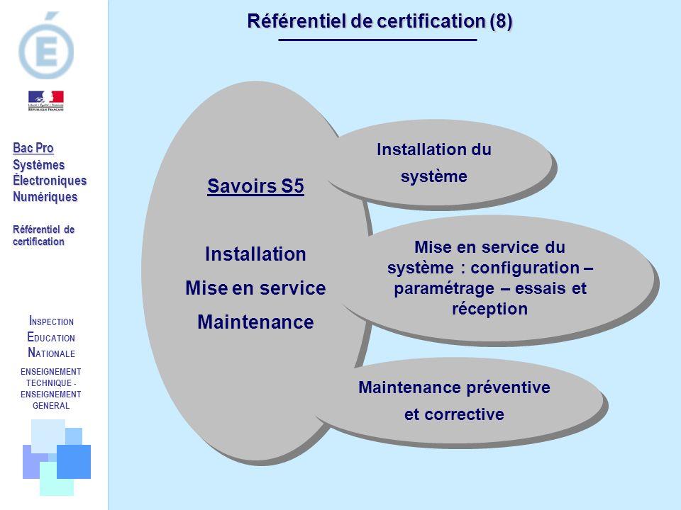 Référentiel de certification (8)