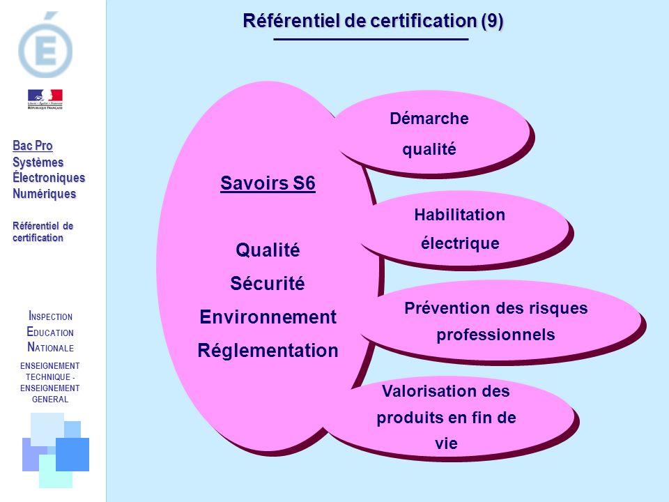 Référentiel de certification (9)