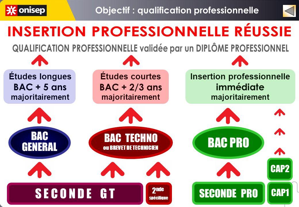 Objectif : qualification professionnelle