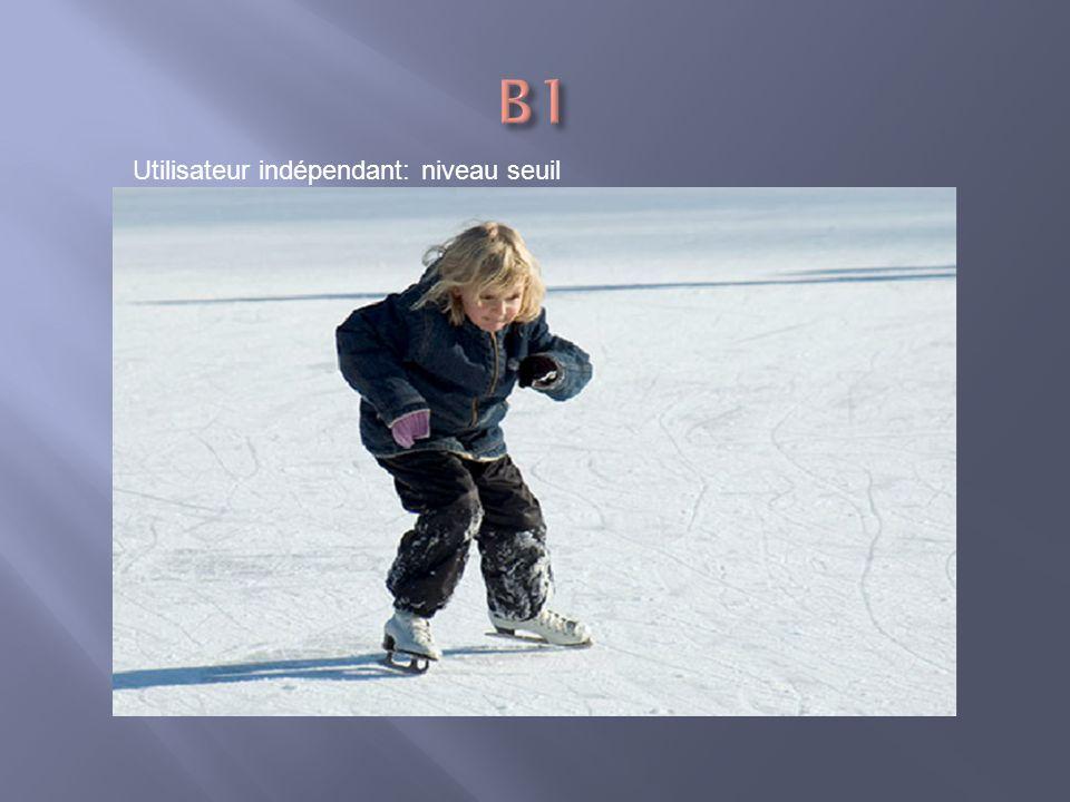 B1 Utilisateur indépendant: niveau seuil