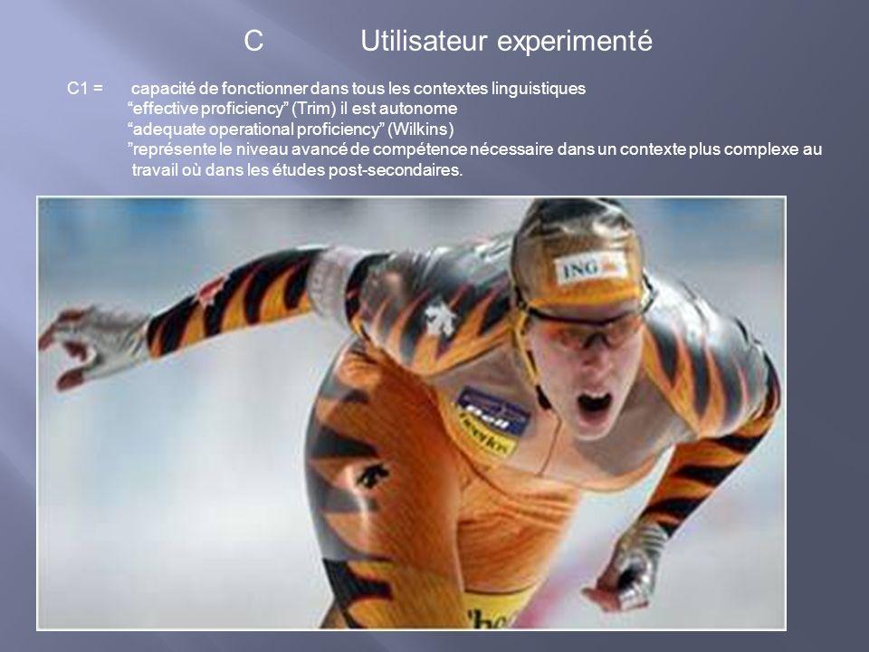 C Utilisateur experimenté