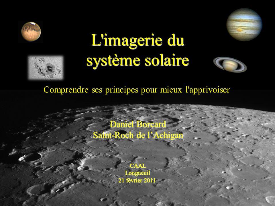L imagerie du système solaire