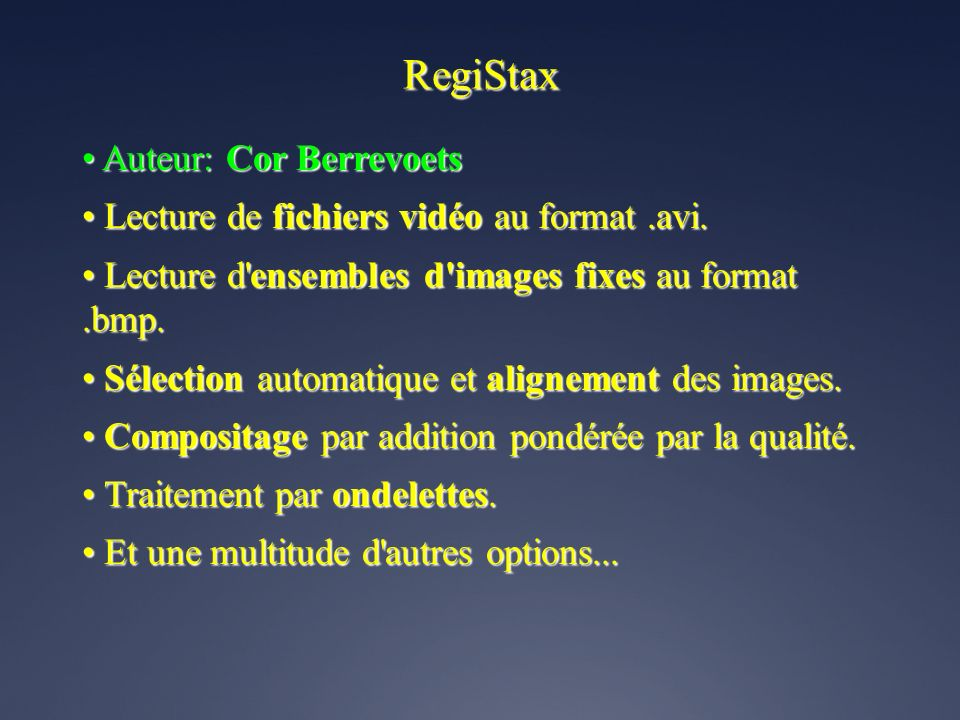 RegiStax • Auteur: Cor Berrevoets