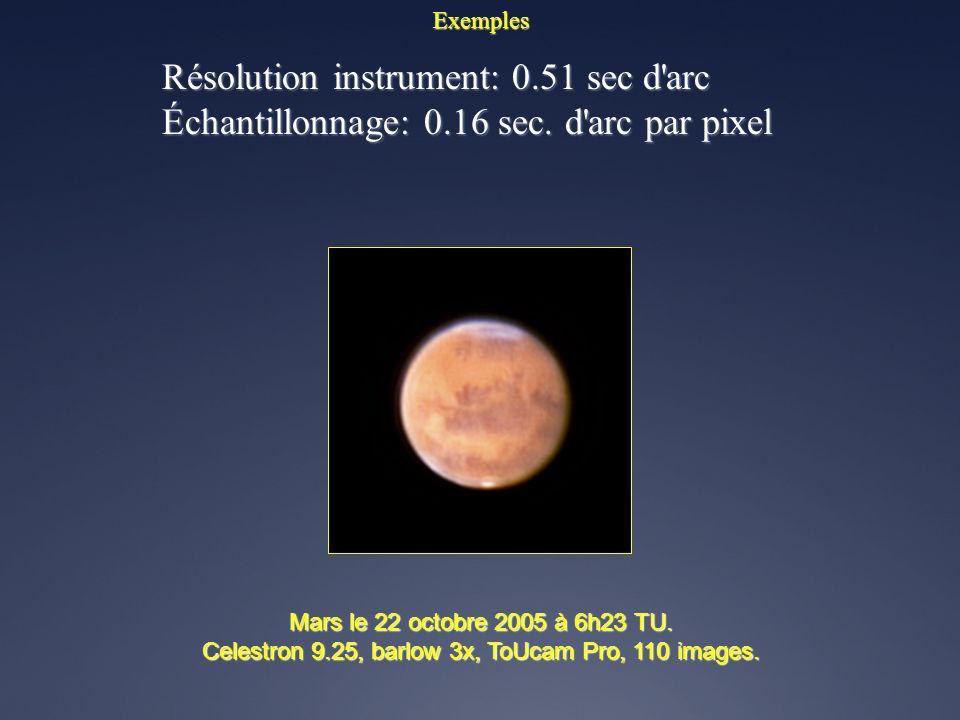Celestron 9.25, barlow 3x, ToUcam Pro, 110 images.