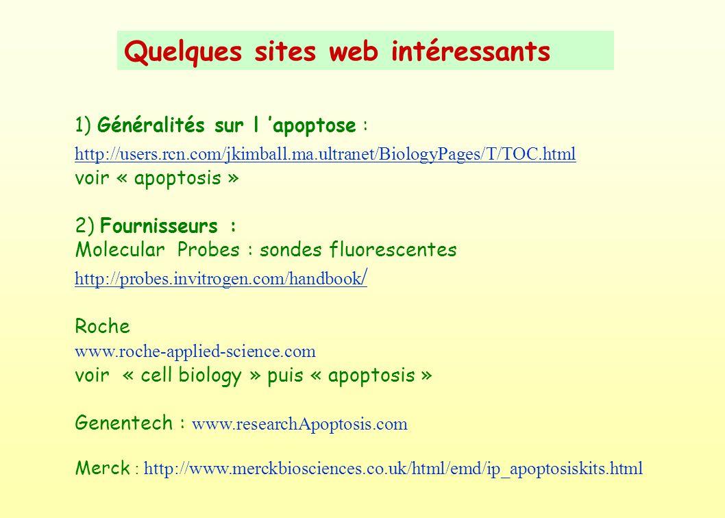 Quelques sites web intéressants