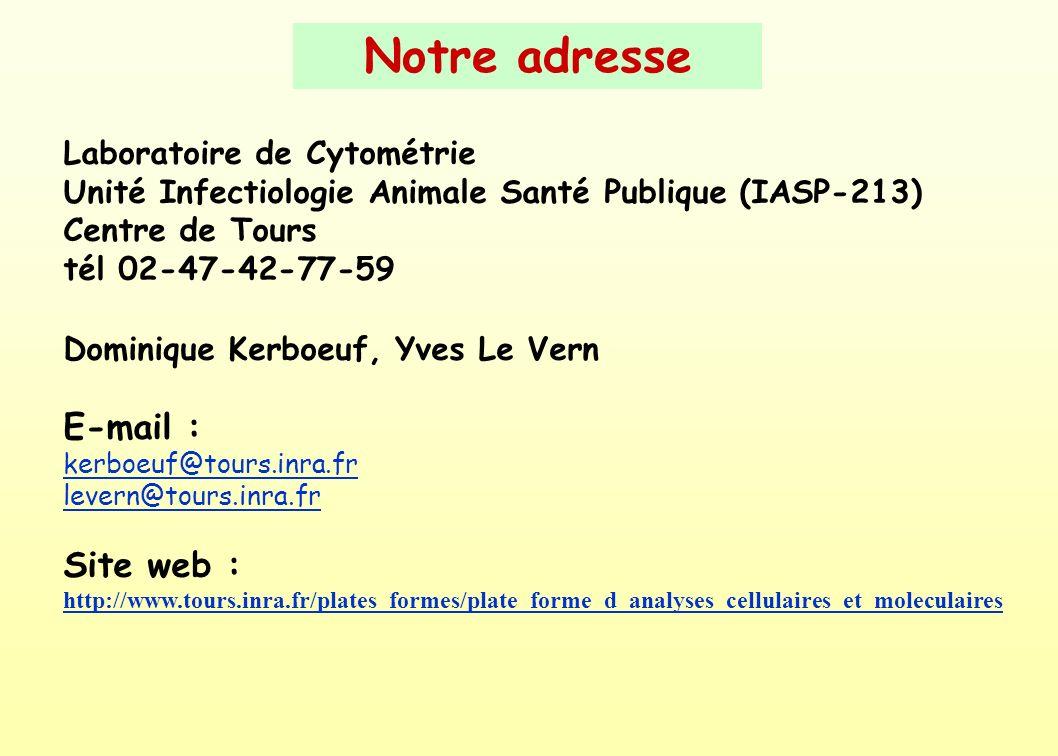 Notre adresse E-mail : Site web :