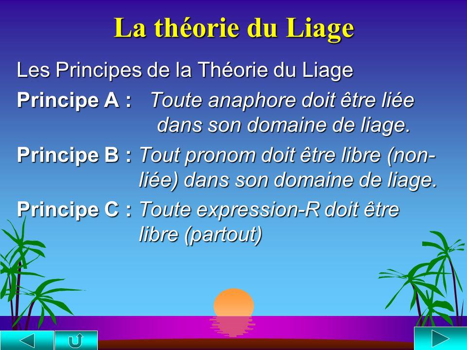 La théorie du Liage Les Principes de la Théorie du Liage