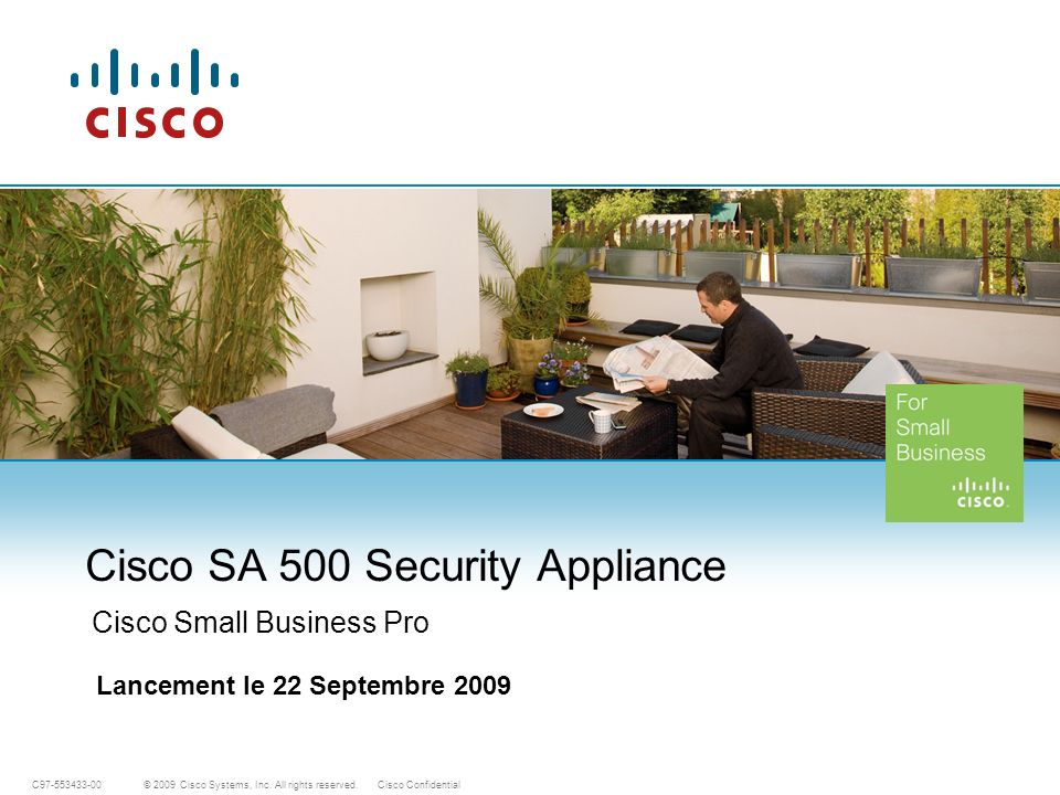 Cisco SA 500 Security Appliance