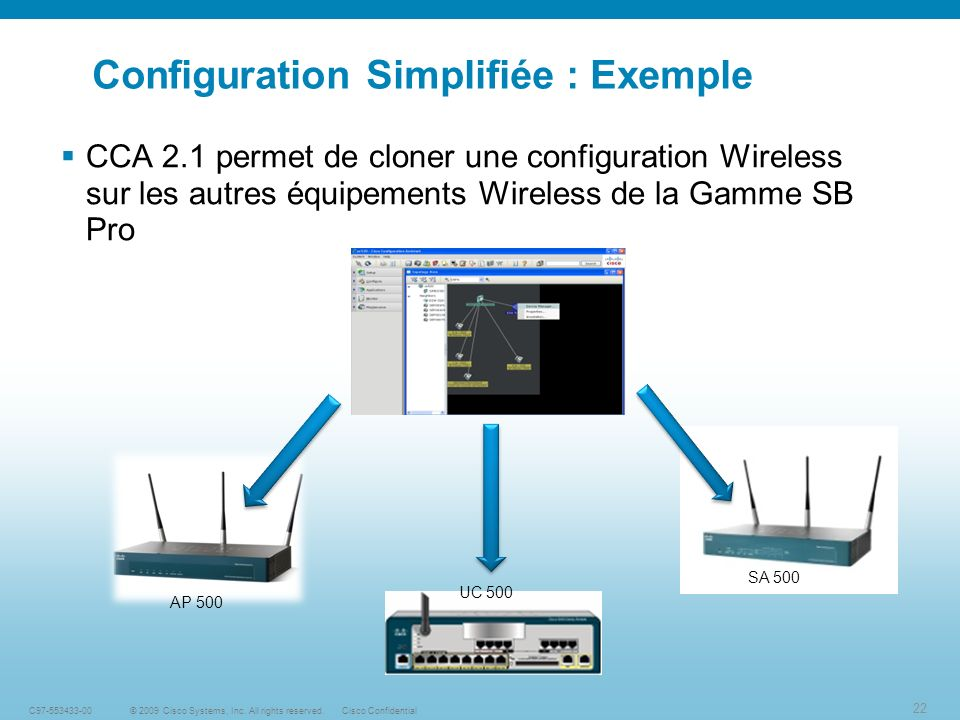 Configuration Simplifiée : Exemple