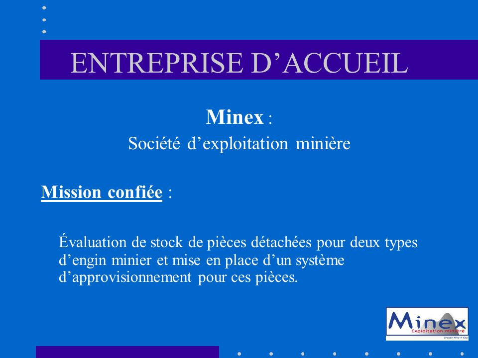 Société d'exploitation minière