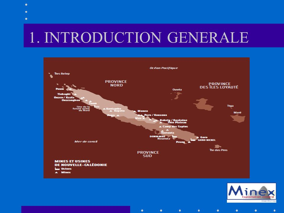 1. INTRODUCTION GENERALE