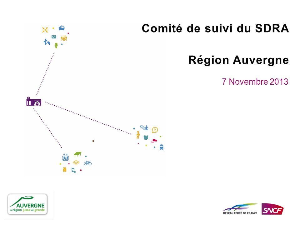 Comité de suivi du SDRA Région Auvergne