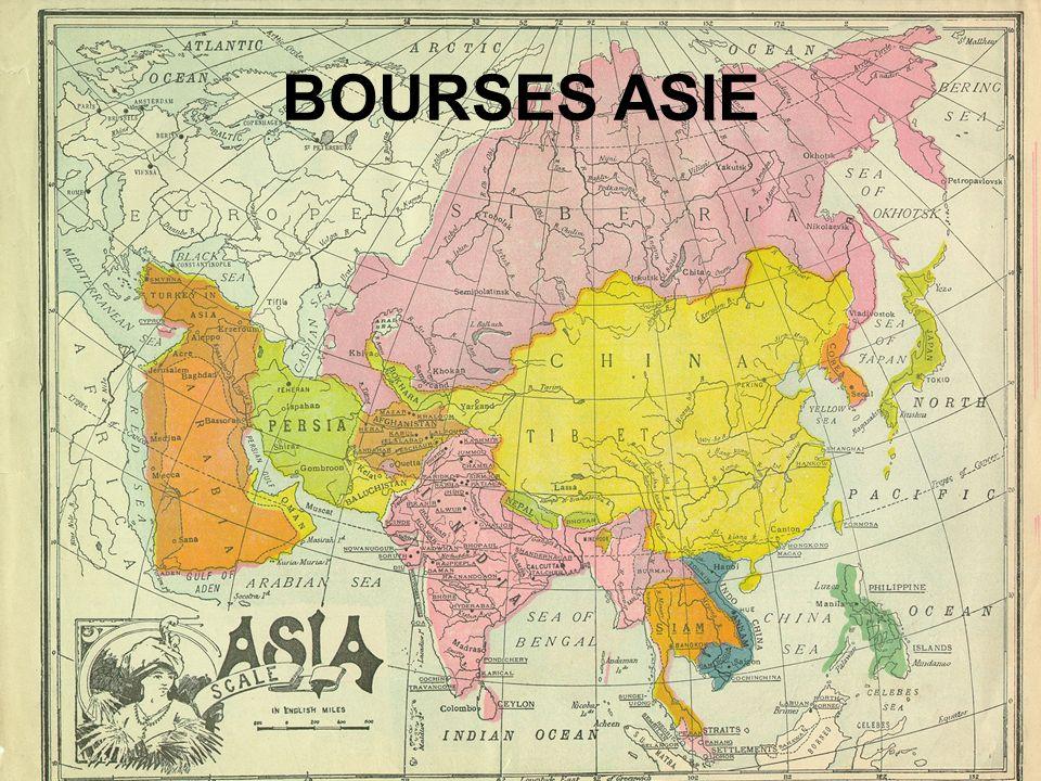 BOURSES ASIE