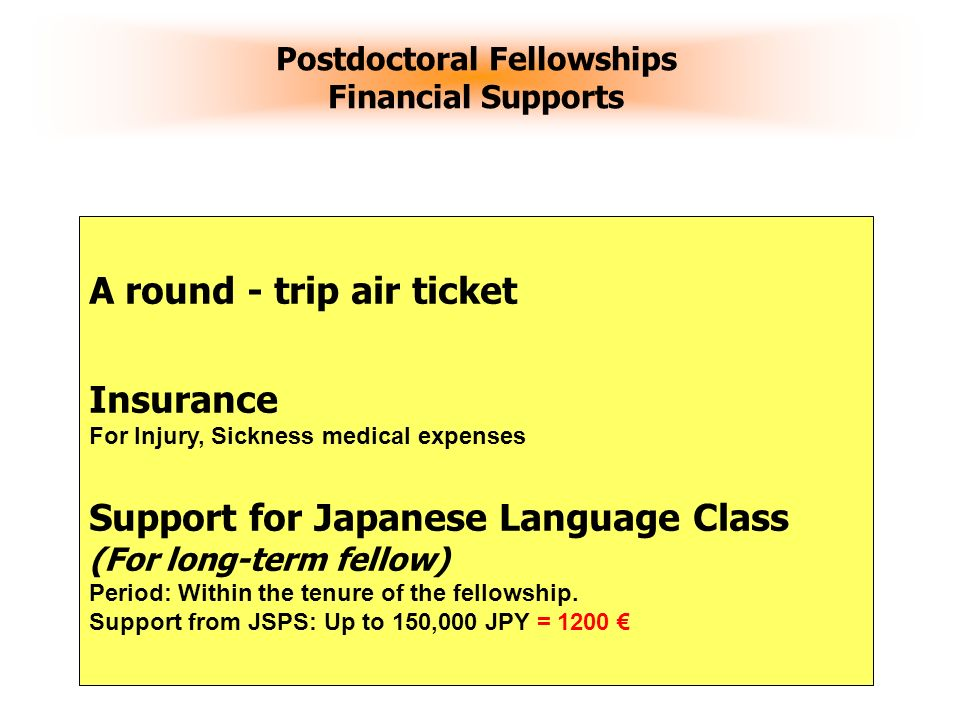 Postdoctoral Fellowships