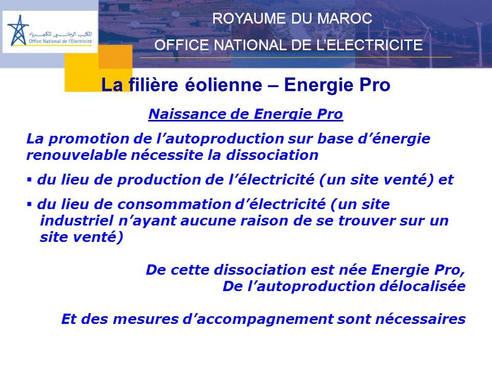La filière éolienne – Energie Pro Naissance de Energie Pro