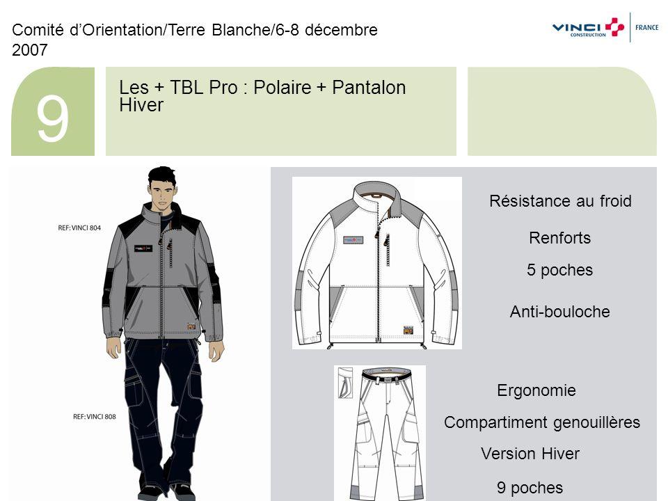 Les + TBL Pro : T-shirt + Pantalon Eté