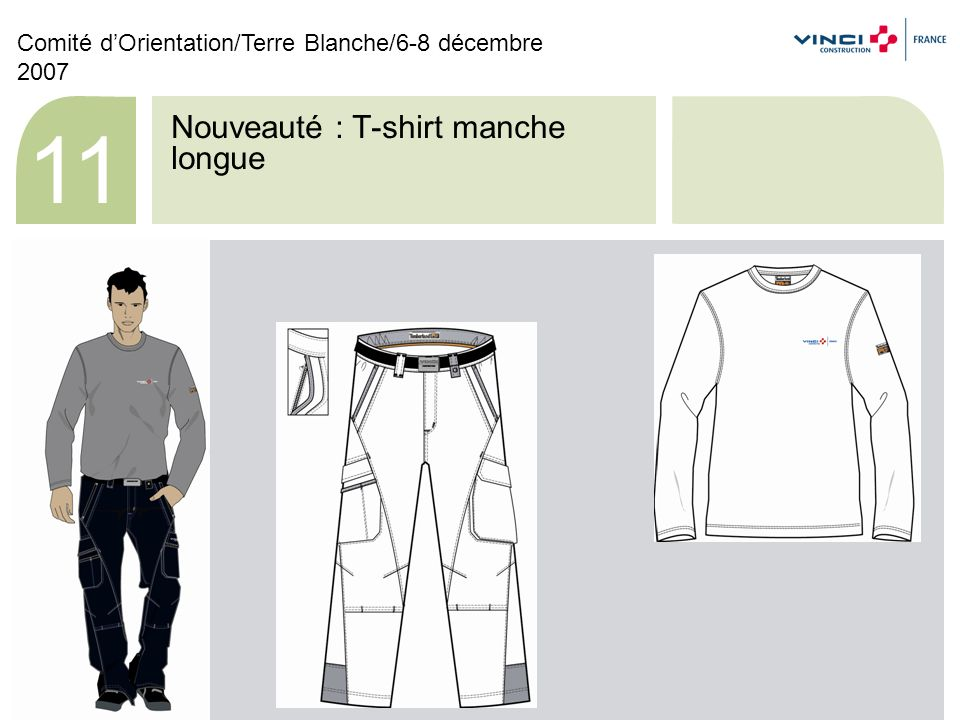 Nouveauté : T-shirt femme + Pantalon femme