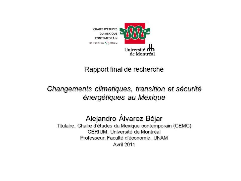 Changements climatiques, transition et sécurité
