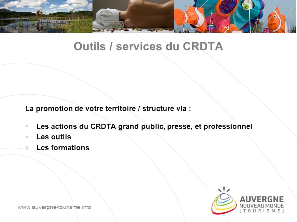 Outils / services du CRDTA