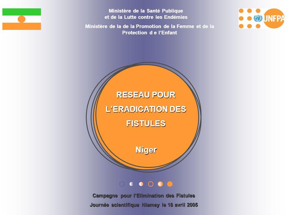 RESEAU POUR L'ERADICATION DES FISTULES Niger