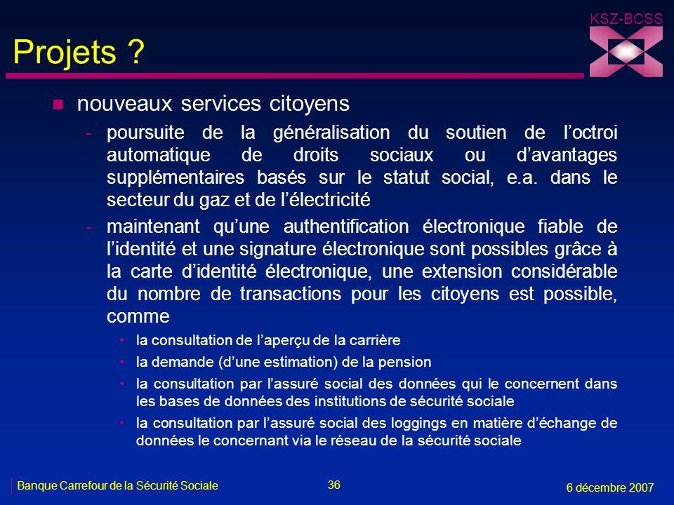 Projets nouveaux services citoyens