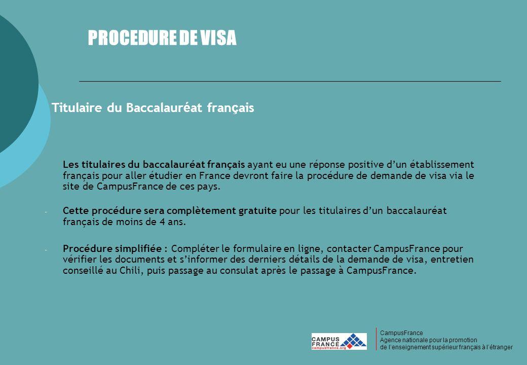 Titulaire du Baccalauréat français