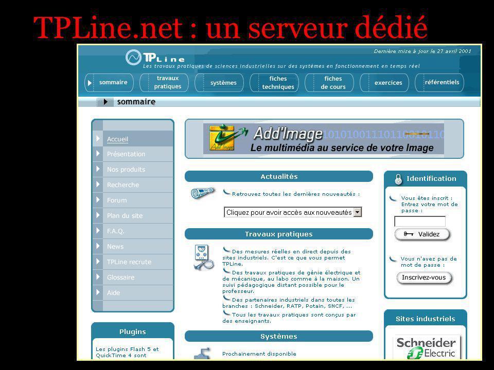 TPLine.net : un serveur dédié