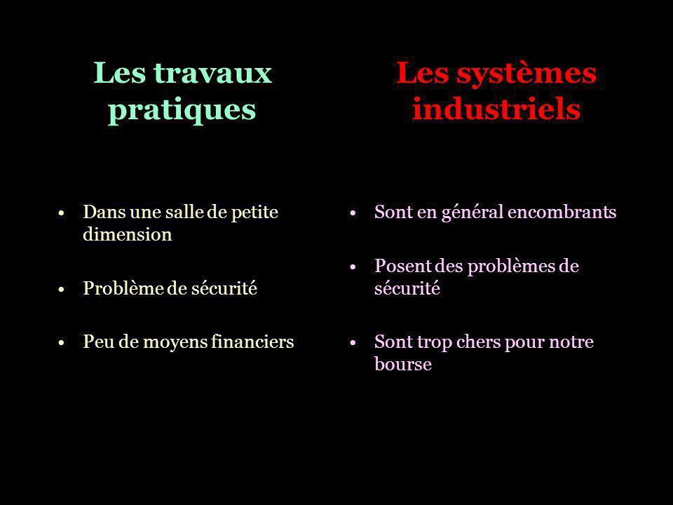 Les systèmes industriels