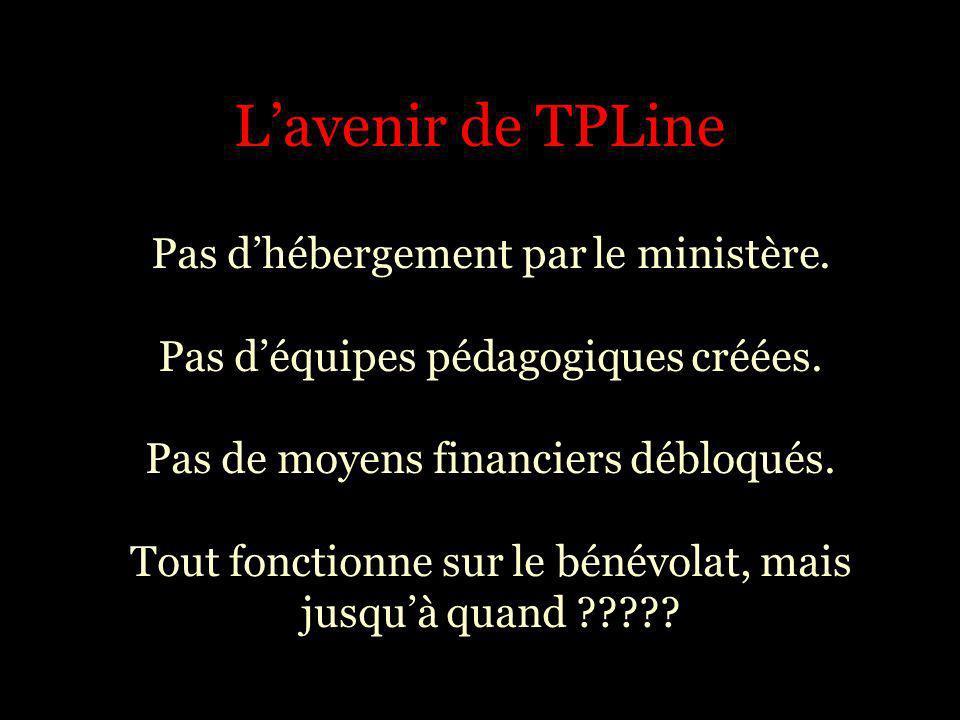 L'avenir de TPLine