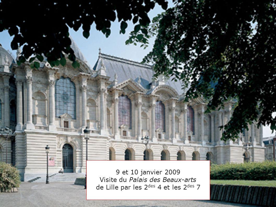 Visite du Palais des Beaux-arts de Lille par les 2des 4 et les 2des 7