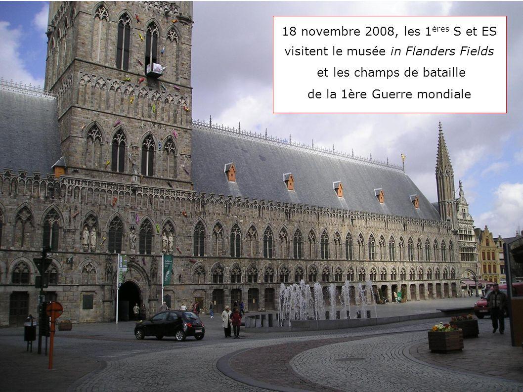 18 novembre 2008, les 1ères S et ES