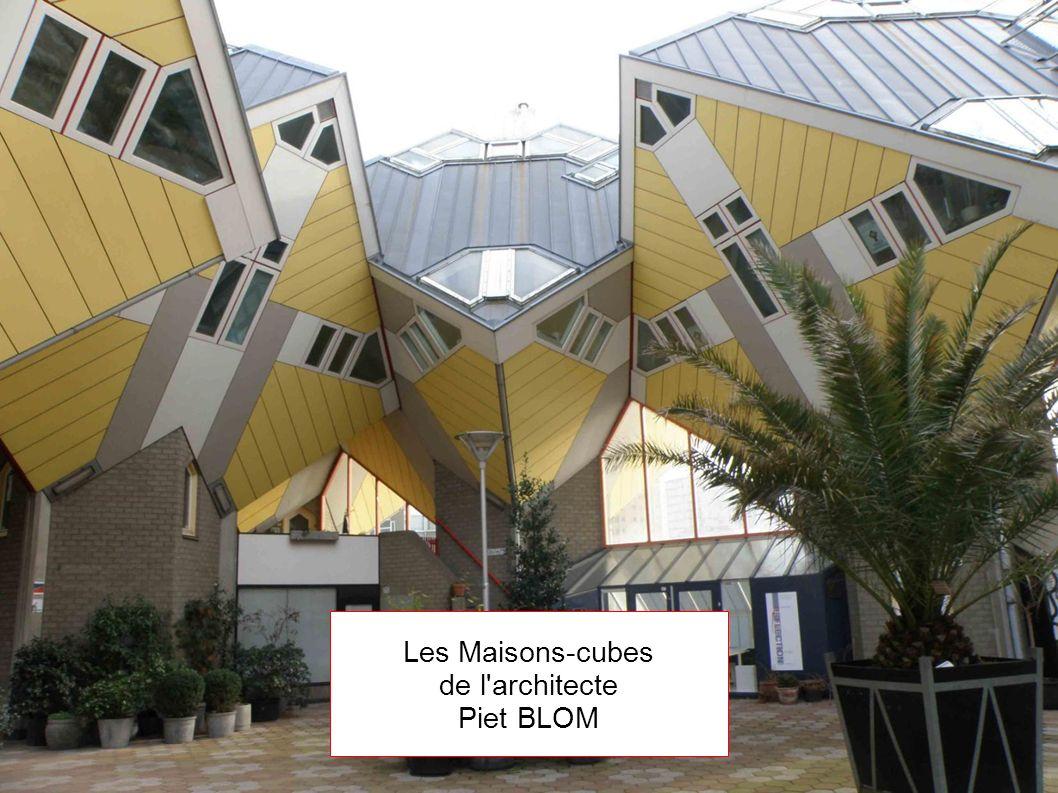 Les Maisons-cubes de l architecte Piet BLOM