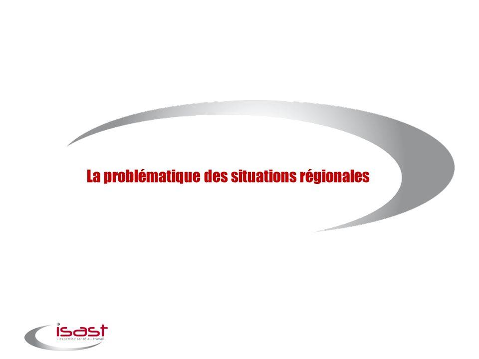 La problématique des situations régionales