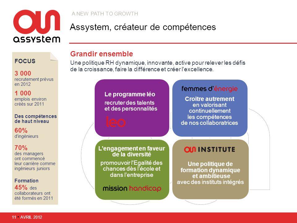 Assystem, créateur de compétences