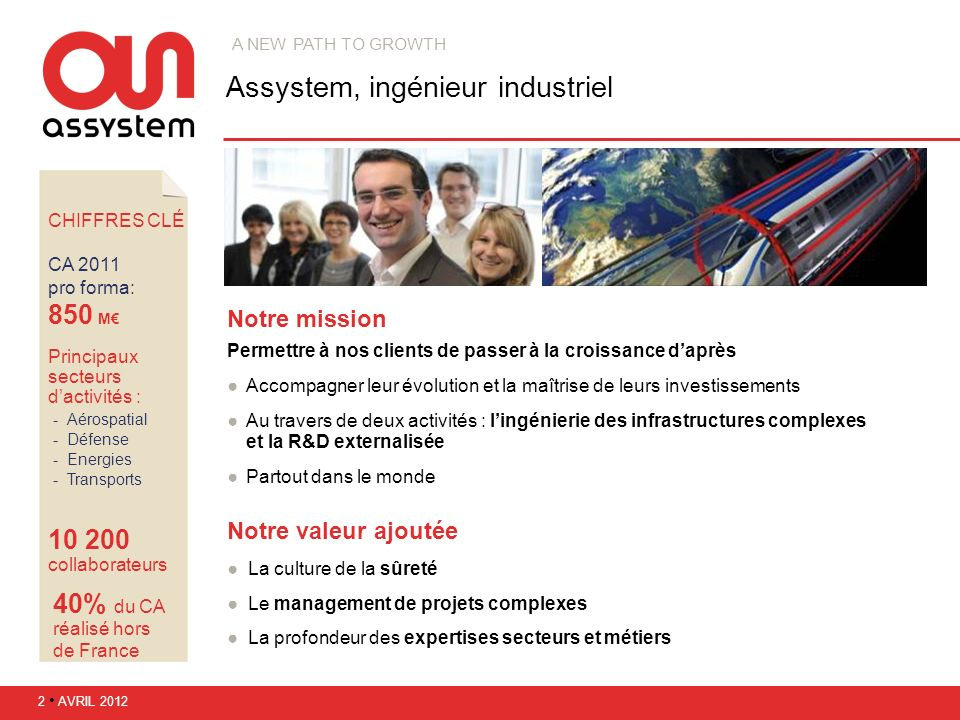 Assystem, ingénieur industriel