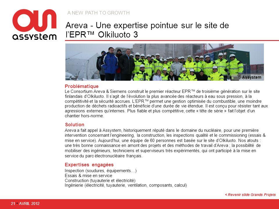 Areva - Une expertise pointue sur le site de l'EPR™ Olkiluoto 3