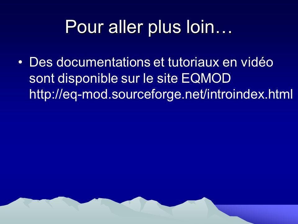 Pour aller plus loin… Des documentations et tutoriaux en vidéo sont disponible sur le site EQMOD http://eq-mod.sourceforge.net/introindex.html.