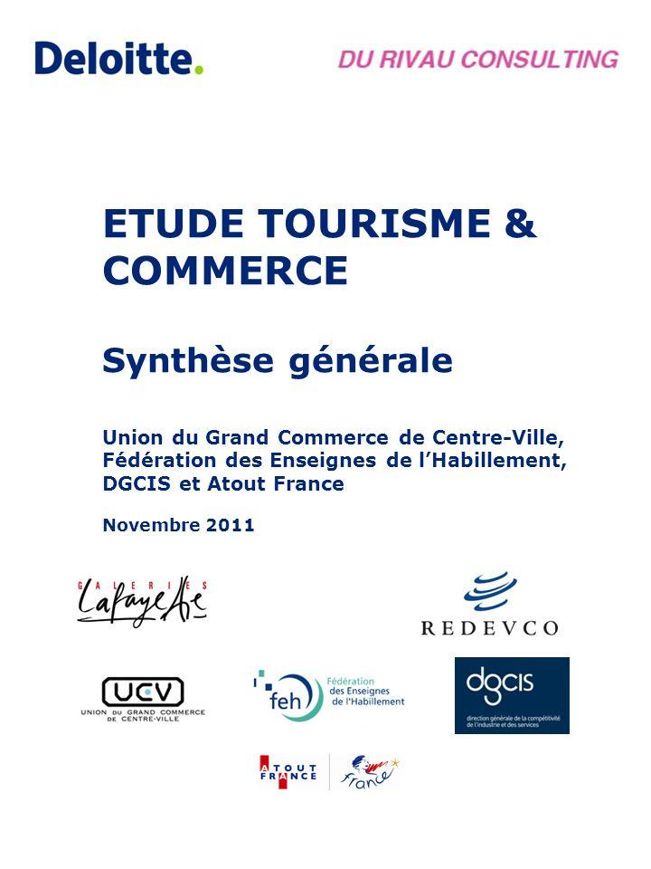 ETUDE TOURISME & COMMERCE