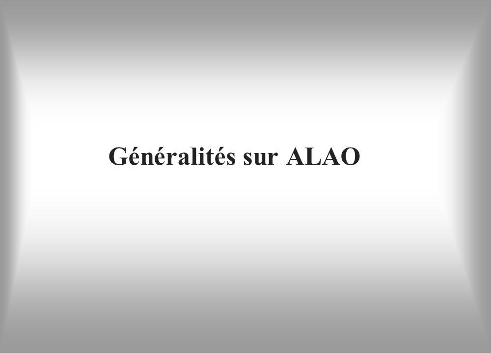 Généralités sur ALAO