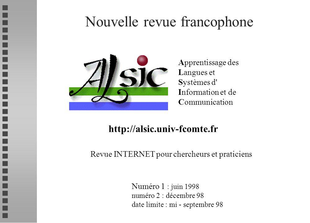 Nouvelle revue francophone