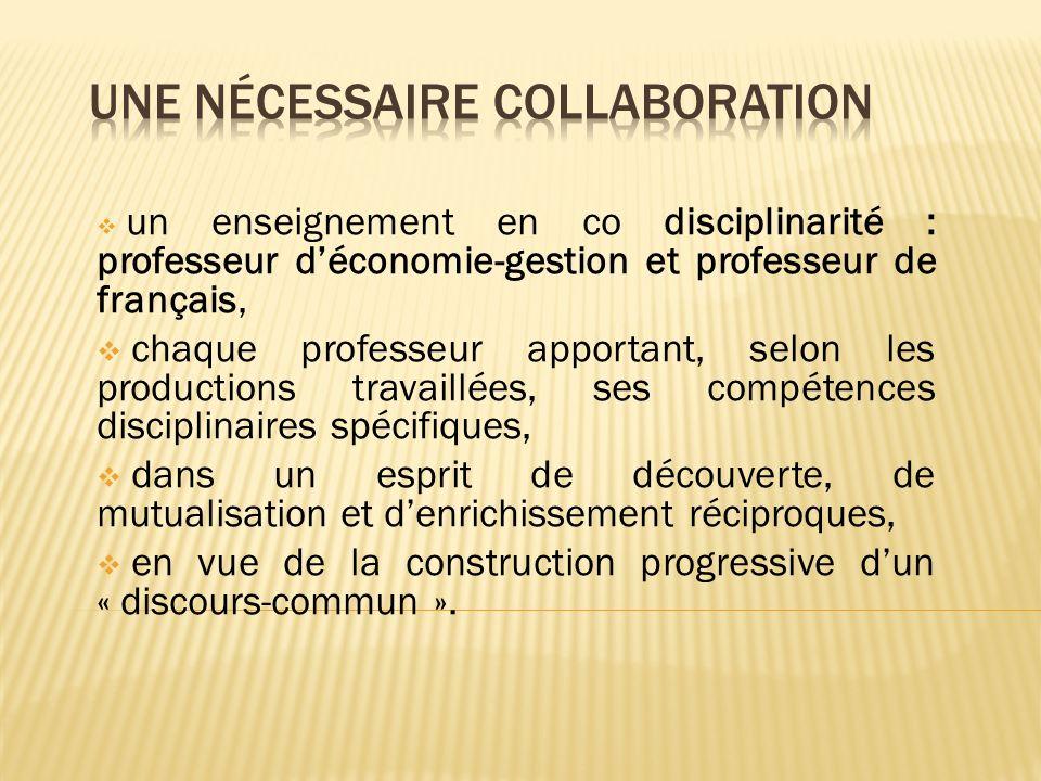 Une nécessaire collaboration