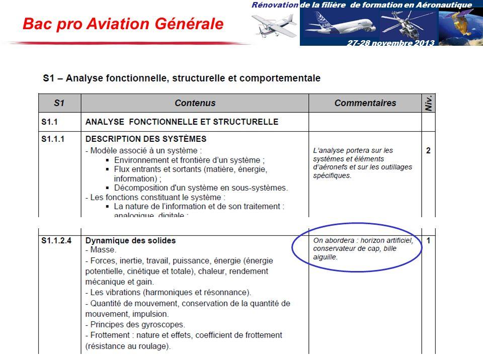 Bac pro Aviation Générale